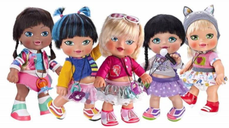 Muñecas Jaggets Cantantes