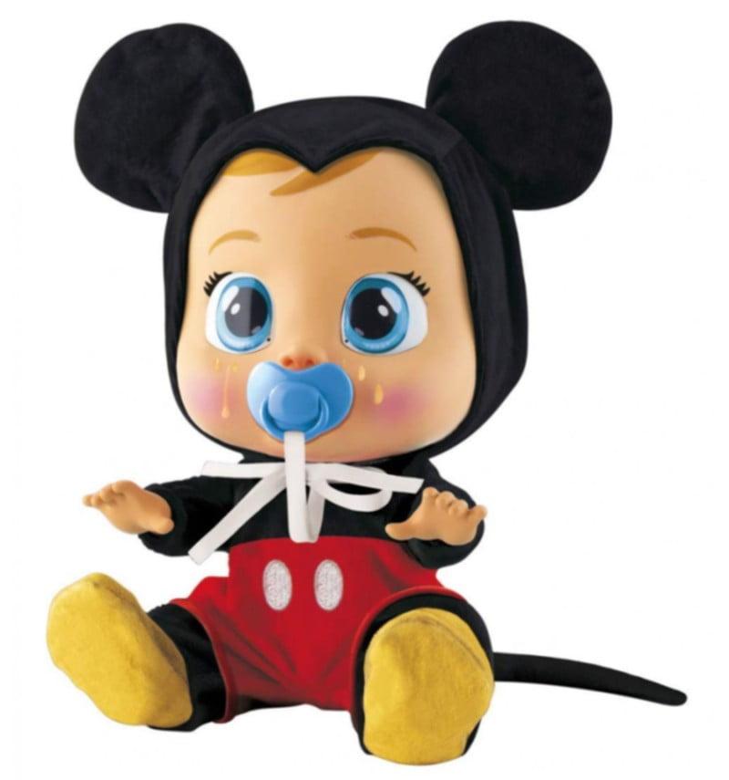 bebé llorón mickey mouse