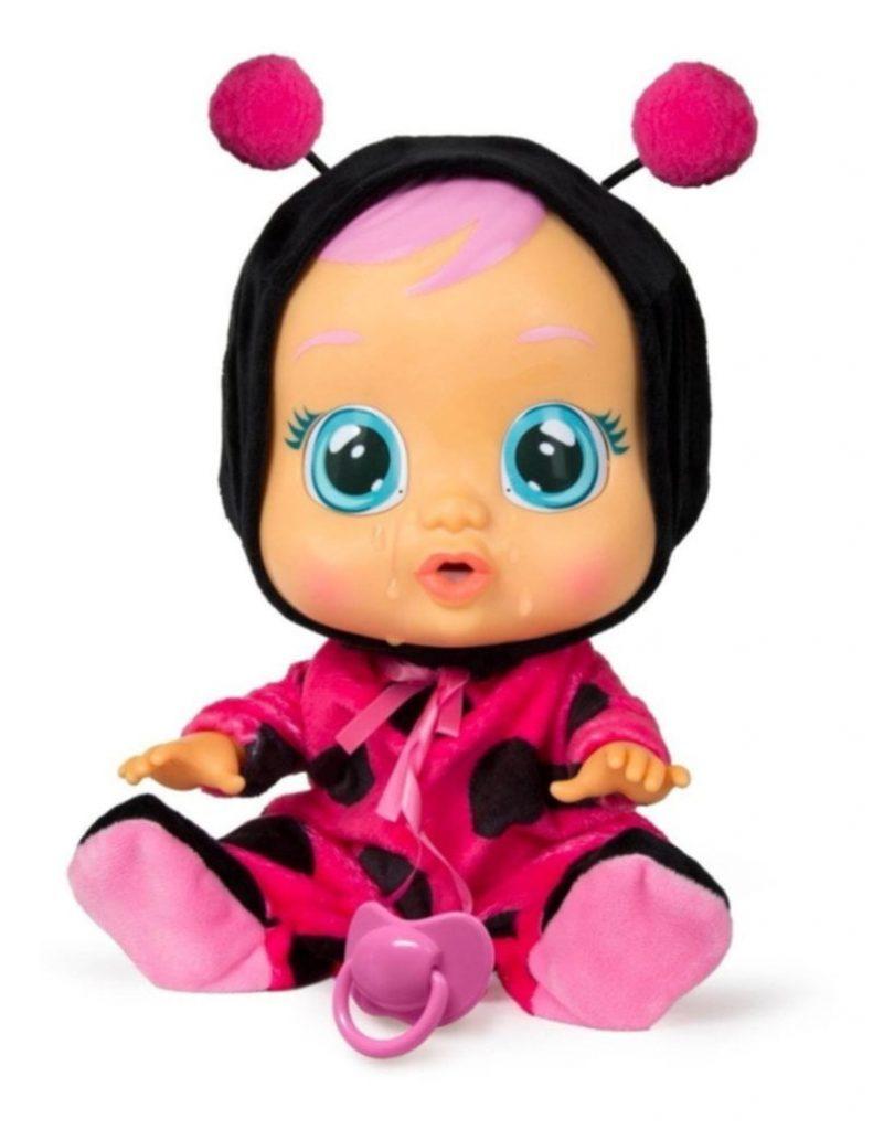 bebé llorón ladybug