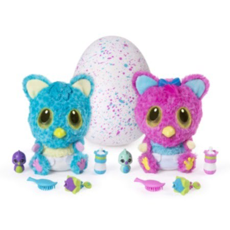 muñecos hatchimals