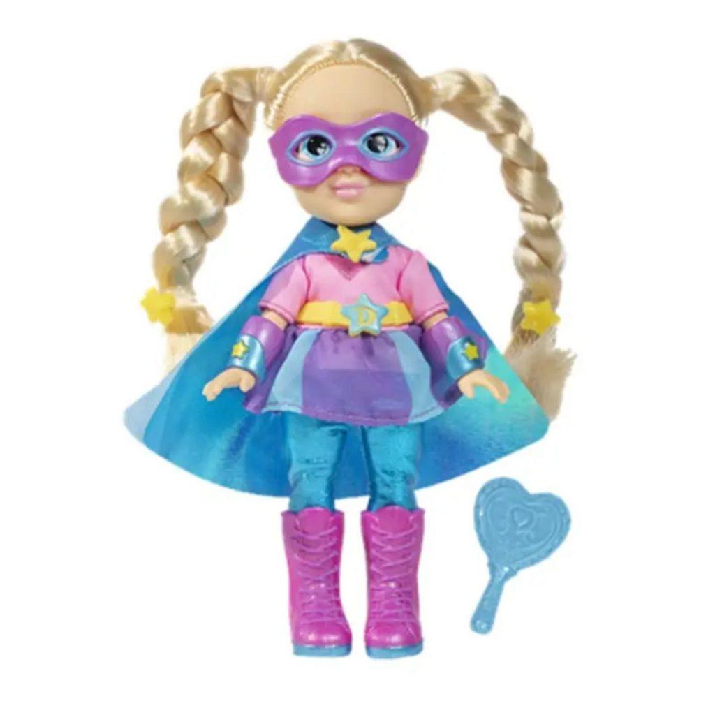muñeca de moda diana love heroina famosa